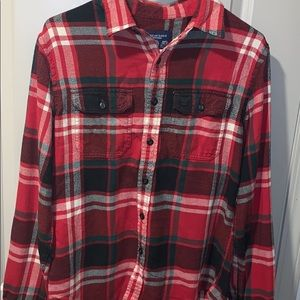 Men's American Eagle Flannel button down
